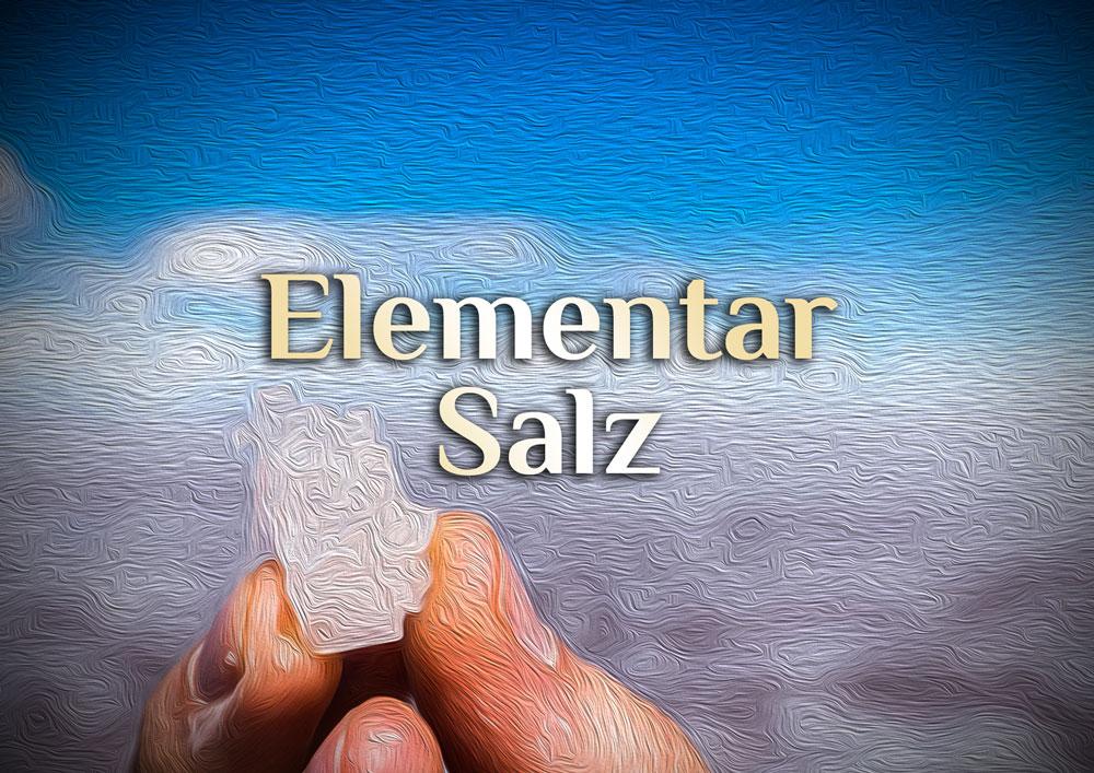 Elementar Salz - Pudriges Elixier zur magischen Reinigung