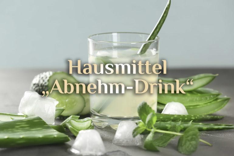 """Elementarer Drink 🍋 Hausmittel zum Abnehmen 🥒 """"Abnehm-Drink"""""""
