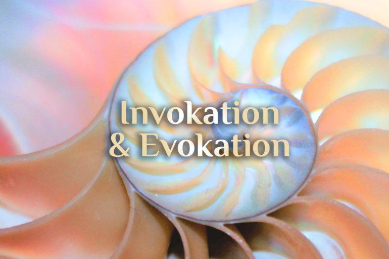 Elementare Invokation 🐚 elementare Evokation
