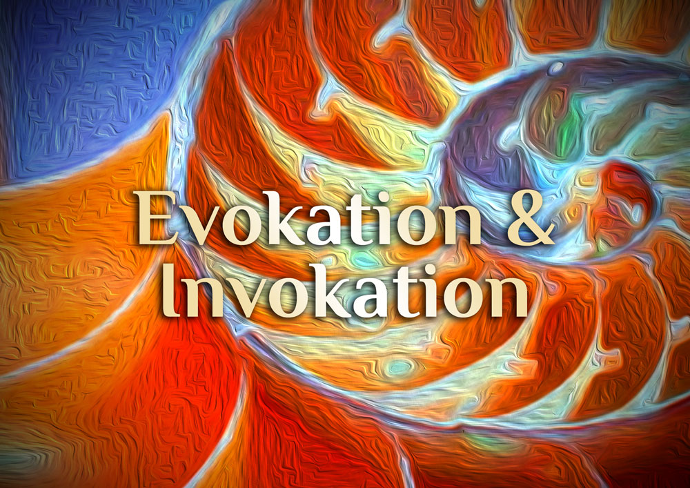 Elementare Invokation | elementare Evokation