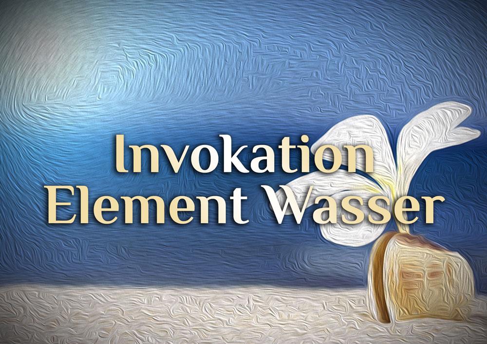 Invokation des elementaren Wassers