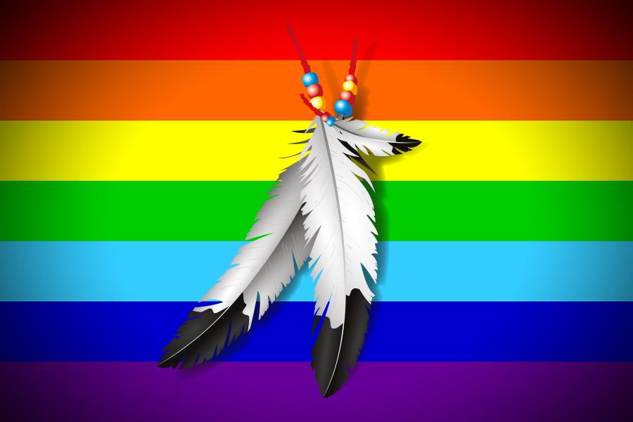 """Homosexualität & Schamanismus 🏳️🌈 Das elementare """"Two-Spirits"""" Konzept"""