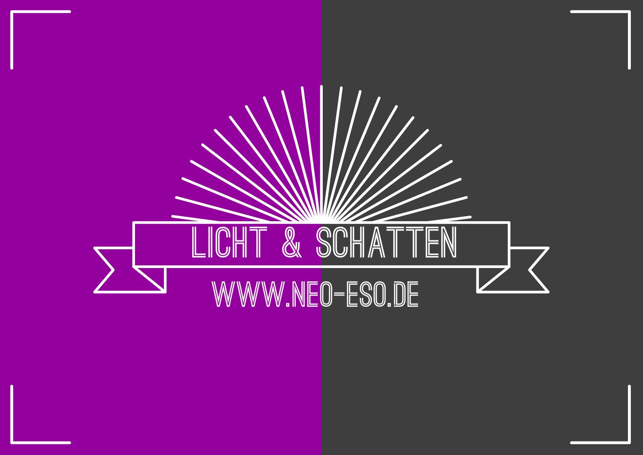 Elementares Lebensmotto | Licht & Schatten