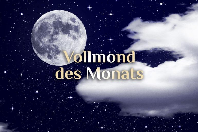 Elementarer Vollmond 🌕 Alle Vollmondphasen & Deutungen 🌕 Monats Vollmond