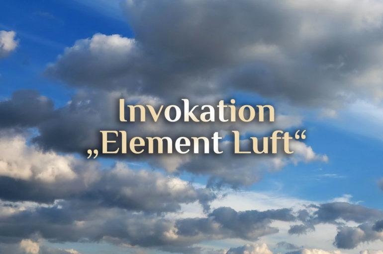 Invokation der elementaren Luft 💨