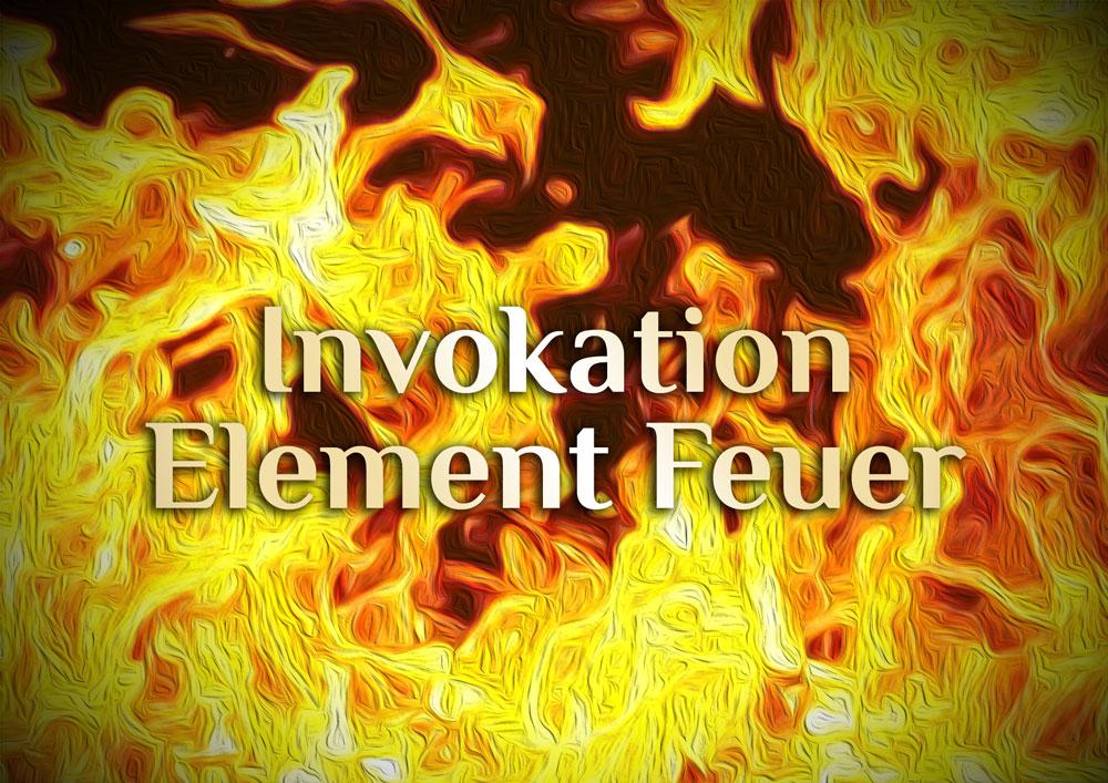 Invokation des elementaren Feuers