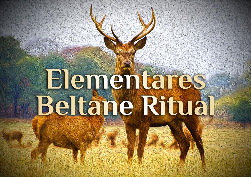 Elementares Beltane Ritual | Ritual zu Beltane