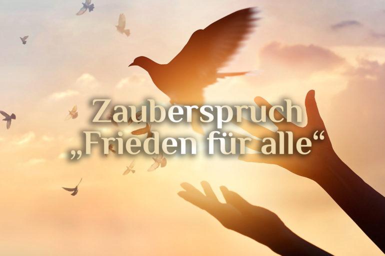 Friedenszauber 🕊️ Zauber der Vergebung 🕊️ Frieden finden