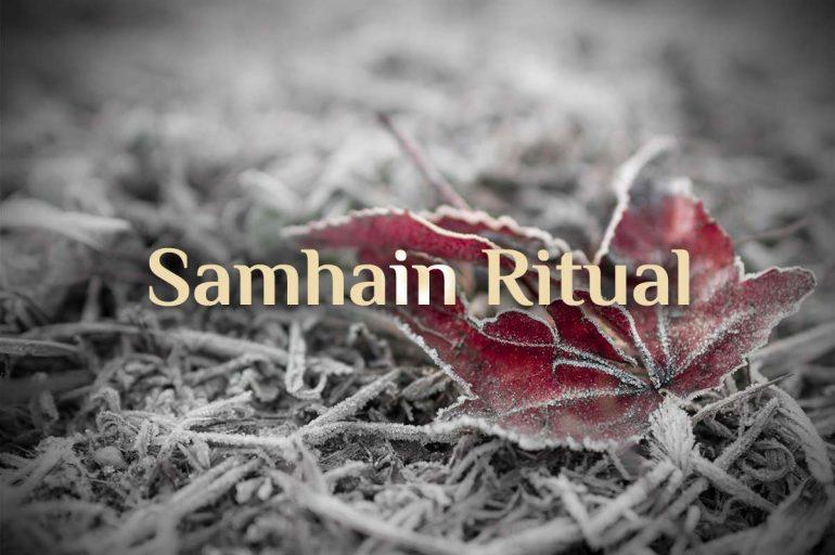 Samhain 🎃 Ritual für Samhain 🎃 Halloween