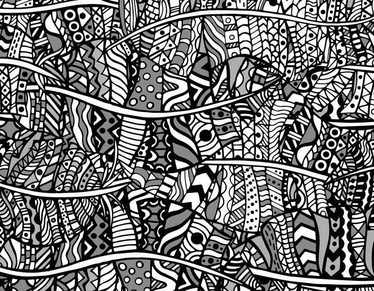 Meditatives Zeichnen | elementares Heilzeichnen | Mandala & Zentangel