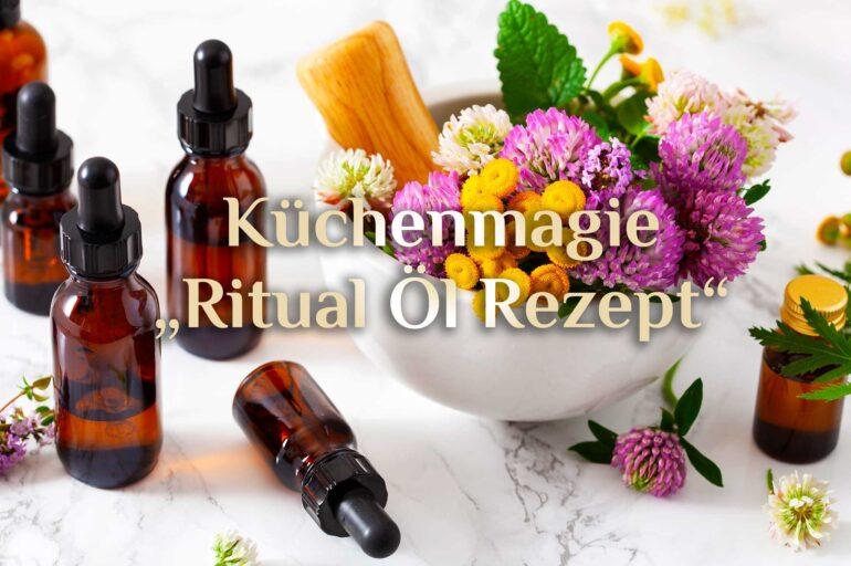 Ritual-Öl 🪔 Öl der Elemente 🪔 5er Kraft Ritualöl