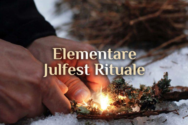 Julfest Ritual 💫 Wintersonnenwende Ritual 💫 Yulfest-Ritual