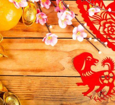 Chinesisches Neujahrsfest 2018   Freitag, 16. Februar   Das Jahr des Erd-Hundes