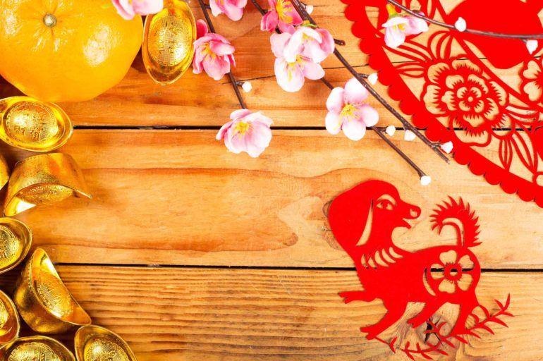 Chinesisches Neujahrsfest 2018 | Freitag, 16. Februar | Das Jahr des Erd-Hundes