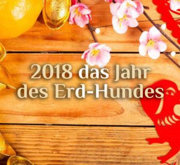 Chinesisches Neujahrsfest 2018 | Freitag, 16. Februar | Das Jahr des Erd-Hundes 🐶