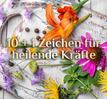 10 + 1 elementare Zeichen für heilende Kräfte⚕️ Bist Du ein Heiler / eine Heilerin?