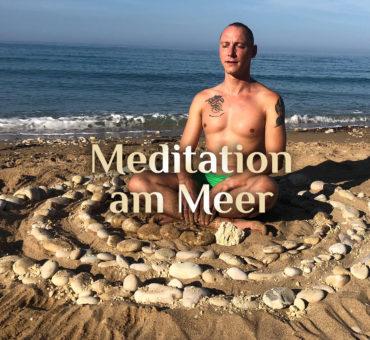 Meditation 🧘🏼♂️ in der Steinspirale 🌀 | Elementare Meditation 🧘🏻♀️ | Meditation am Meer 🌊