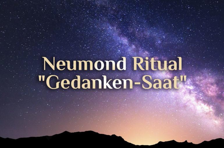 Neumond Ritual 🌚 Gedanken säen 🌚 Positiver Neumond