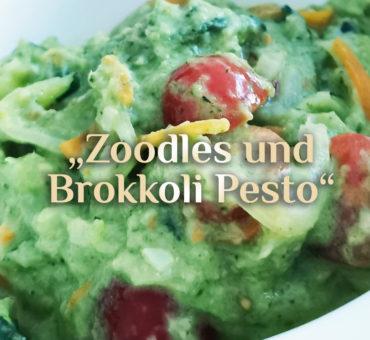 Zoodles Rezept 🍝 Hexenküche  🍝 Brokkoli Pesto