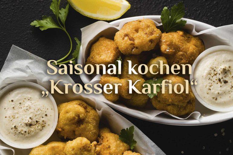 "Blumenkohl Bissen 🥦 Vegetarische ""Wings"" 🥦 Krosser Karfiol"