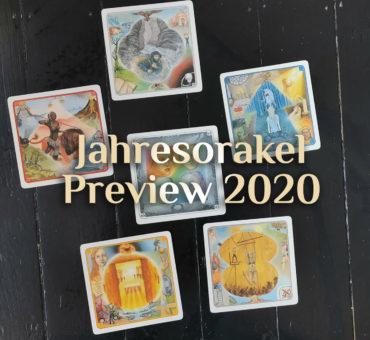 Spirituelle Jahresschau 🔮 Das Jahresorakel 🔮 Preview Jahresimpuls 2020
