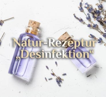 Rezept für Desinfektionsmittel ⚗️ Natürliches Händedesinfektionsmittel 🧼 Desinfektion selbst herstellen