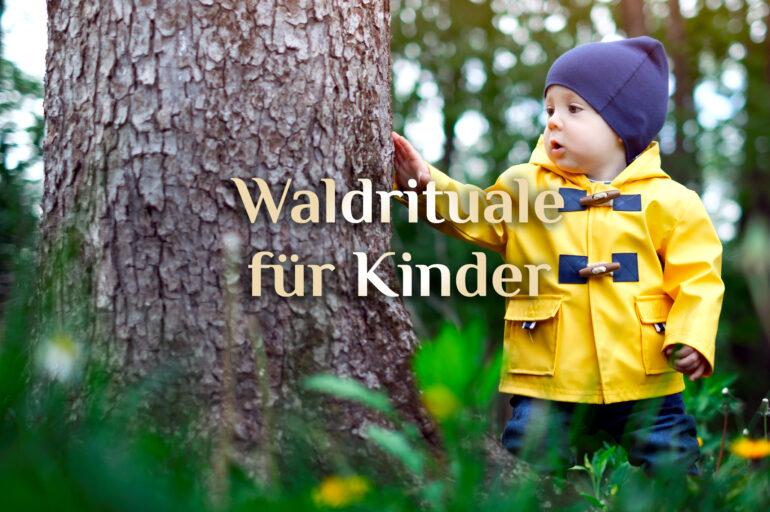 Waldrituale für Kinder 🌳 spiritueller Waldspaziergang 🌲 Spiele im Wald