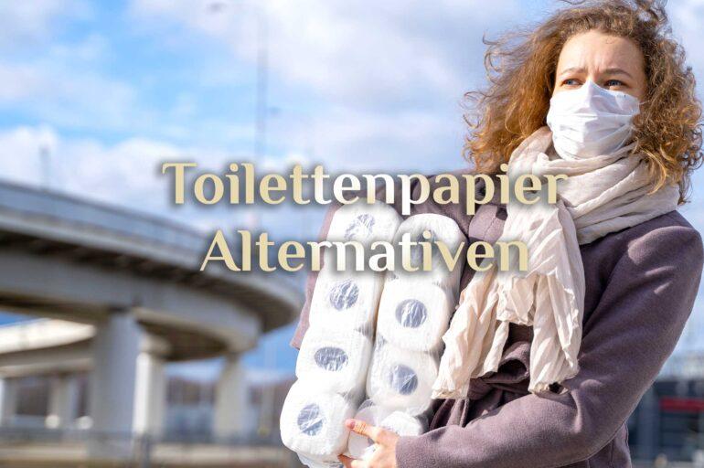 Alternativen zum Klopapier 🧻 Nachhaltig natürlich 🧻 Leben ohne Toilettenpapier
