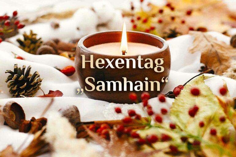 Hexen Feiertag 🍂 Samhain & Halloween 🍂 Magisches Allerheiligen