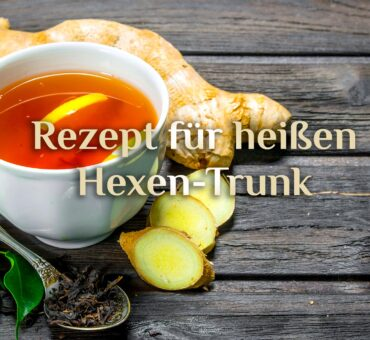 Rezept heißer Hexen Trunk 🌶️  Hexentee fruchtig & scharf 🍊🍋