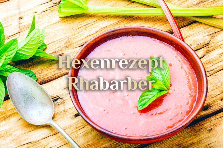 Rhabarber Schaum 🍧 Heilpflanze Rhabarber 🍧 Rhabarber Rezept