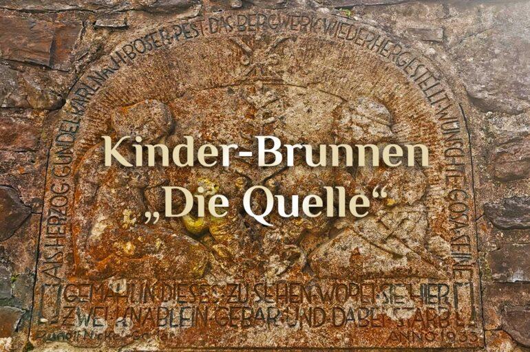 Der Kinderbrunnen ⛲  Muttertag in Goslar 🤰🏻  Kinderwunsch-Wasser