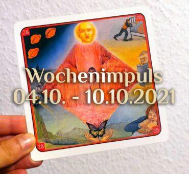 Traumkarte 💭 04. Oktober - 10. Oktober 2021 🔮 Wochenimpuls